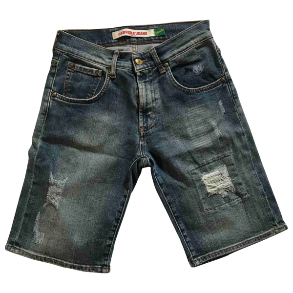 Pre-owned Carrera Blue Denim - Jeans Shorts