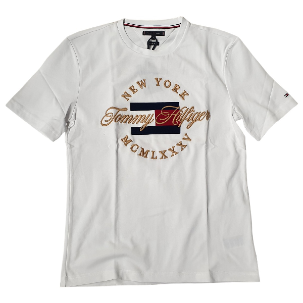 Tommy Hilfiger White Cotton T-shirts
