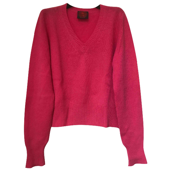 Happy Sheep Pink Cashmere Knitwear