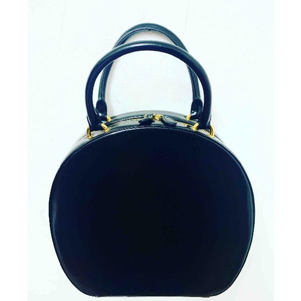 Simone Rocha Black Leather Handbag