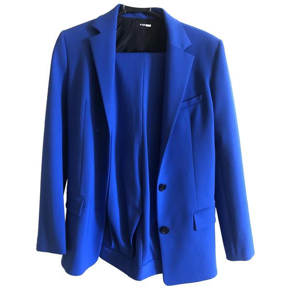 Pre-owned Kwaidan Editions Blue Wool Jacket