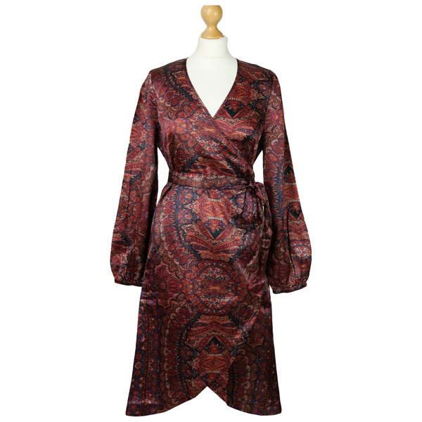 Pre-owned By Timo Burgundy Dress