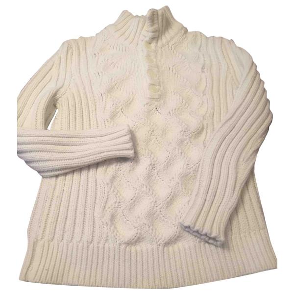 Daniele Alessandrini White Wool Knitwear