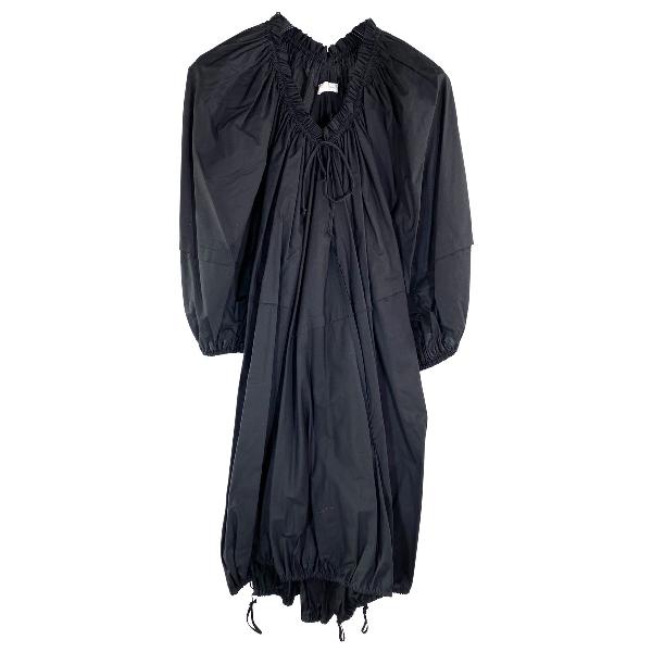 Wunderkind Black Cotton Dress
