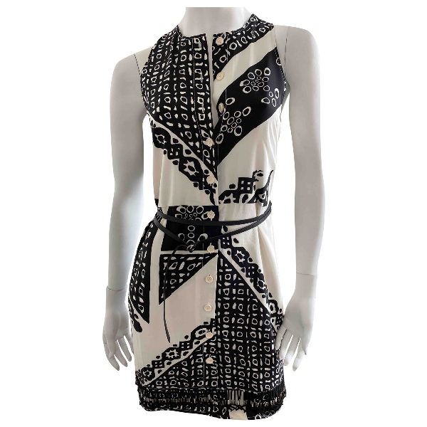 Altuzarra White Silk Dress