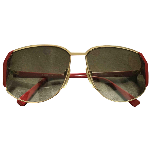 Silhouette Red Sunglasses
