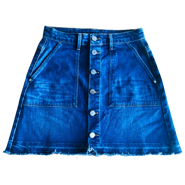 Edwin Blue Denim - Jeans Skirt