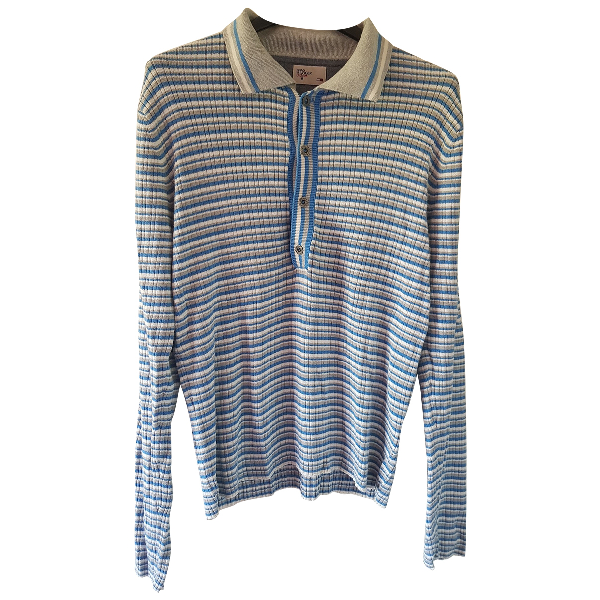 Tommy Hilfiger Turquoise Cotton T-shirts