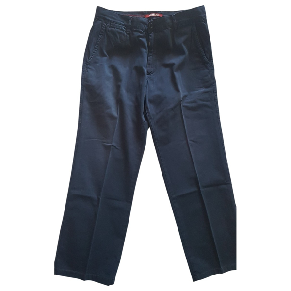 Pre-owned Carrera Blue Cotton Trousers