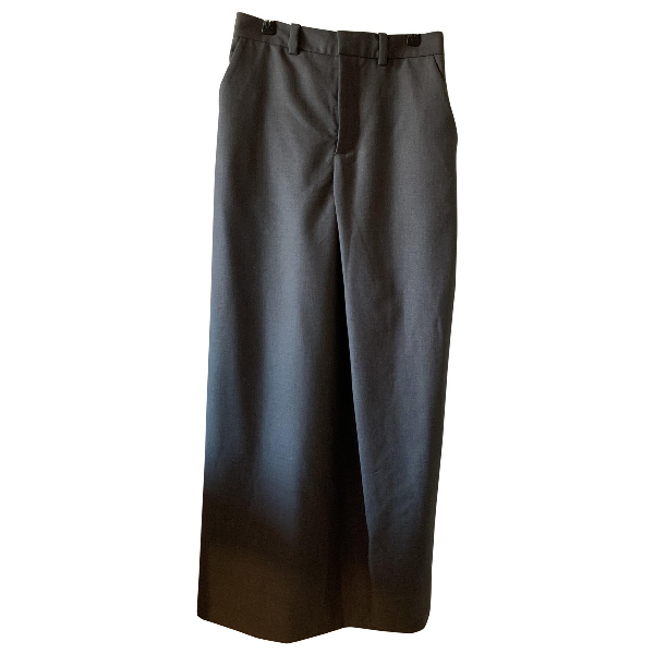 Y/project Grey Wool Trousers