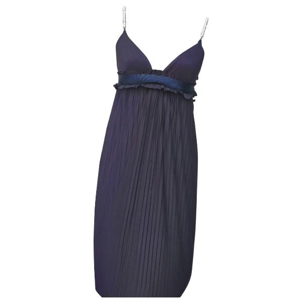 Daniele Alessandrini Blue Dress