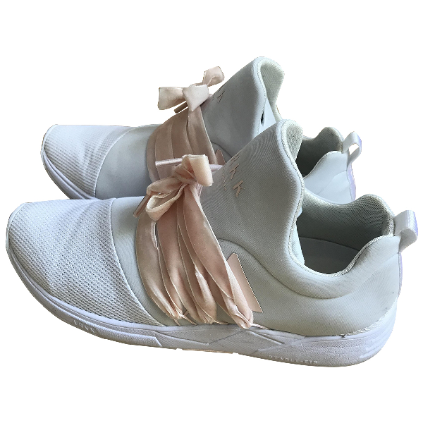 Arkk White Cloth Trainers