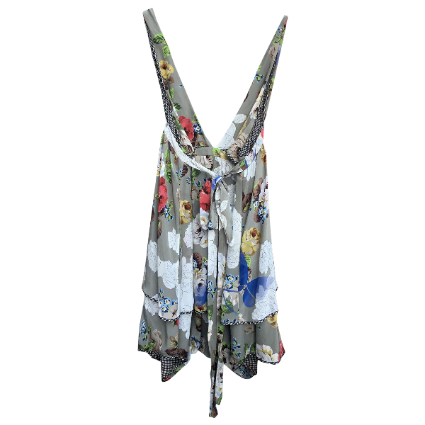 Wunderkind Multicolour Silk Jumpsuit