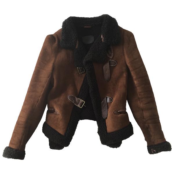 Wunderkind Brown Suede Jacket