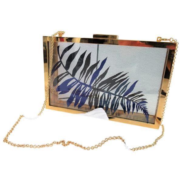Pre-owned Vionnet Gold Clutch Bag