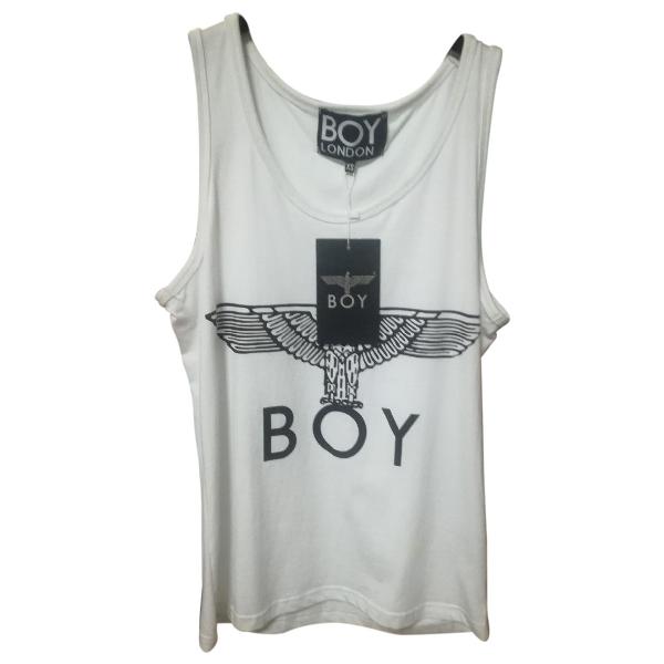 Boy London White Cotton  Top