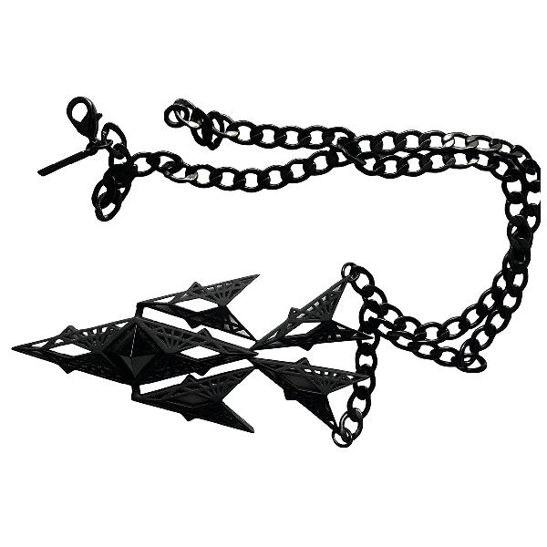 Eddie Borgo Black Metal Pendant