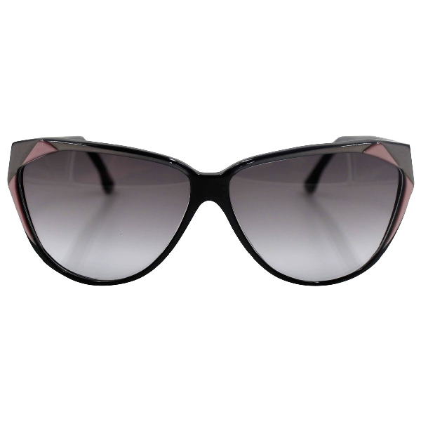 Roberto Capucci Black Sunglasses