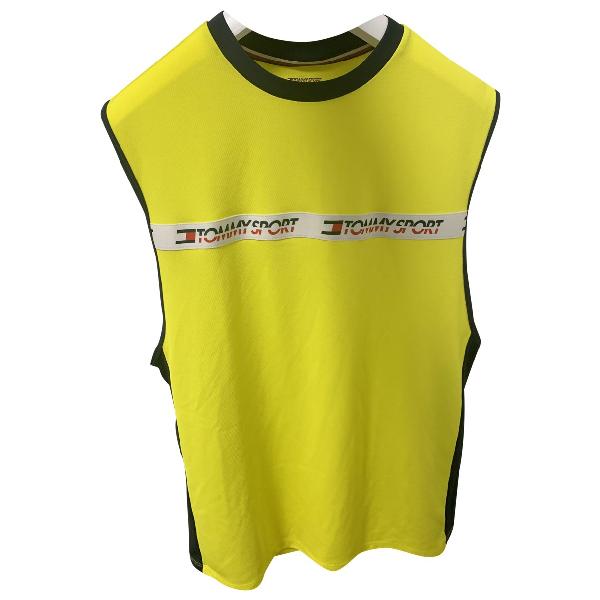 Tommy Hilfiger Yellow T-shirts