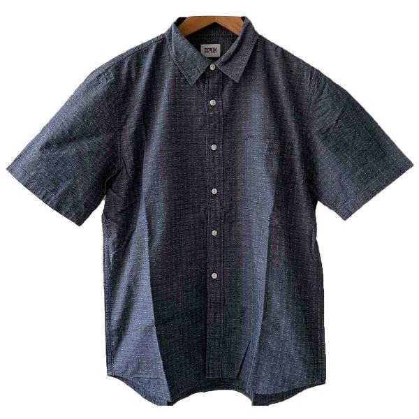 Edwin Blue Cotton Shirts