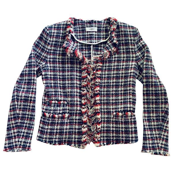 Etoile Isabel Marant Navy Cotton Jacket