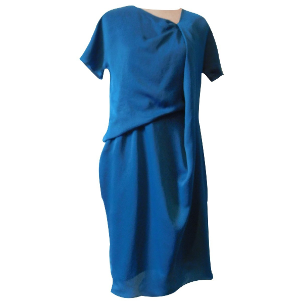 Carven Turquoise Dress