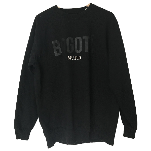 Muf10 Black Cotton Knitwear & Sweatshirts