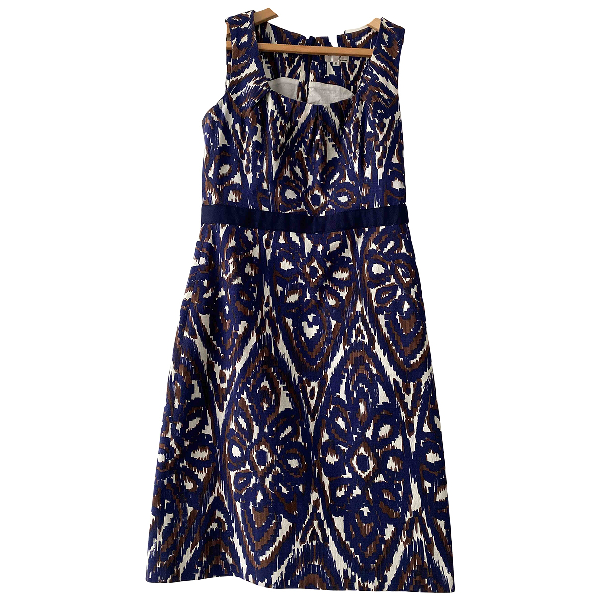 Milly Navy Cotton Dress