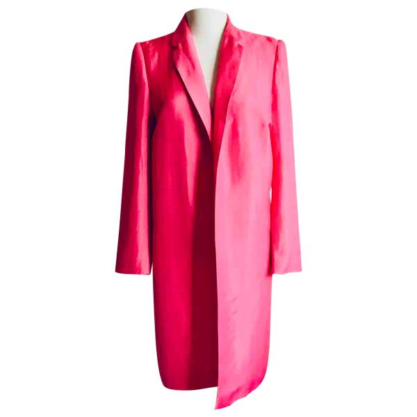 Dries Van Noten Pink Coat