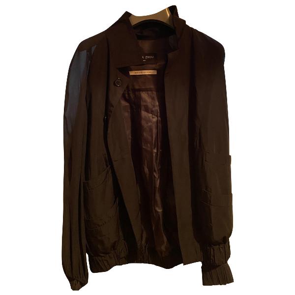 Xander Zhou Black Jacket