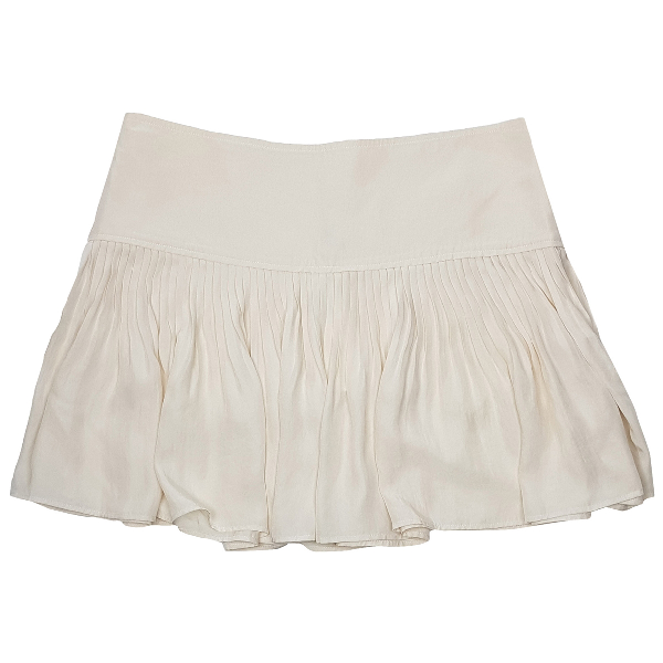 Etoile Isabel Marant Beige Silk Skirt
