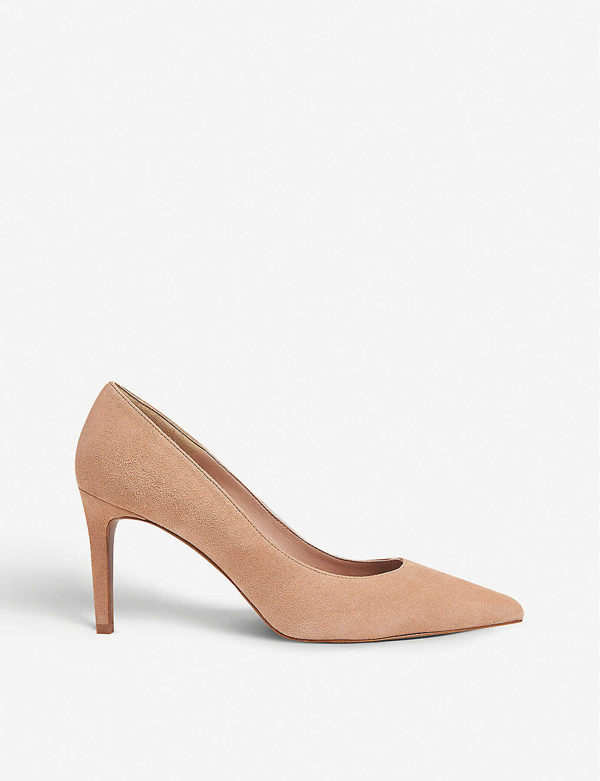 Whistles Cari Pointed Suede Courts