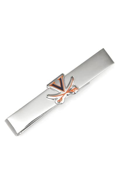 Cufflinks, Inc University Of Virginia Tie Bar In Silver