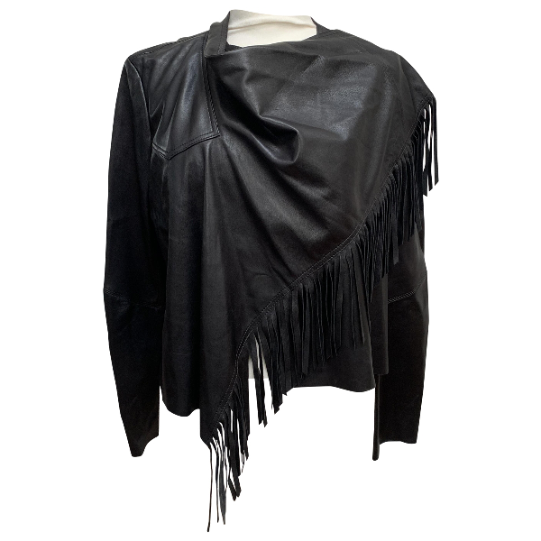 Isabel Marant Black Leather Leather Jacket