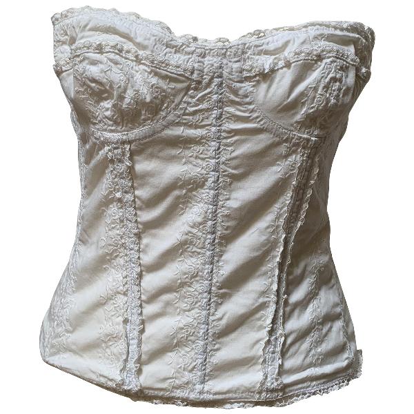 Luisa Beccaria White Cotton  Top