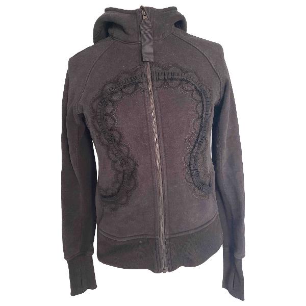 Lululemon Black Cotton Jacket