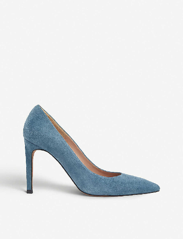 Whistles Cornel Pointed Suede Courts