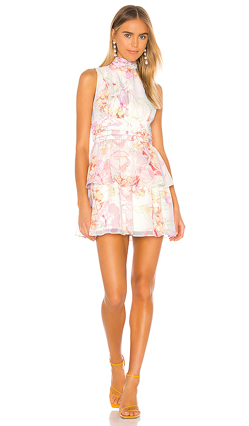 Amanda Uprichard Sleeveless Samira Dress In Chesapeake