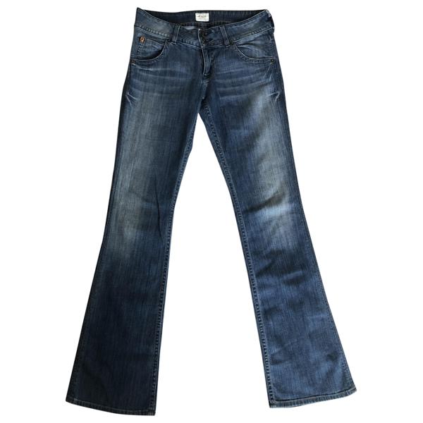 Pre-owned Hudson Blue Denim - Jeans Jeans