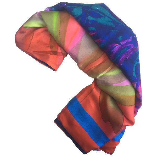 Pierre-louis Mascia Multicolour Silk Scarf