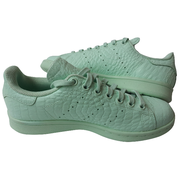 Adidas Originals Stan Smith Green Leather Trainers
