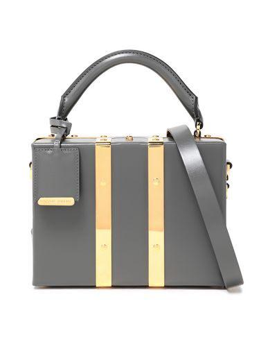 Sophie Hulme Handbag In Lead