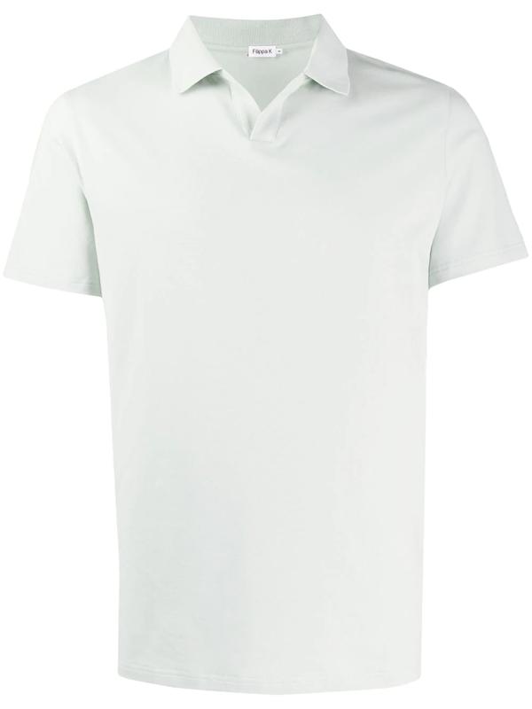 Filippa K M Lycra Polo T-shirt In Green