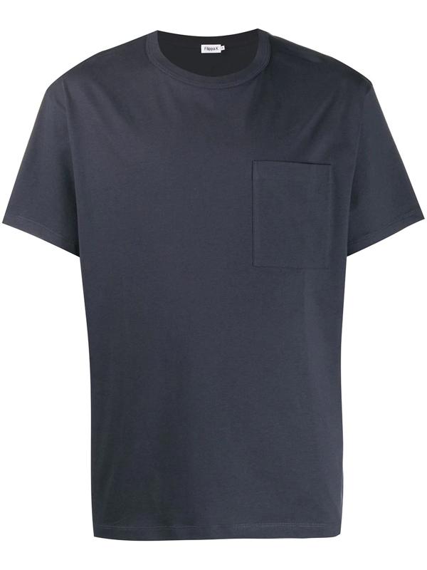 Filippa K M Brad T-shirt In Blue