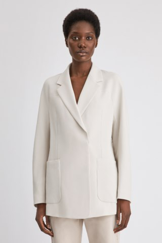 Filippa K Aida Tailored Blazer In Ivory
