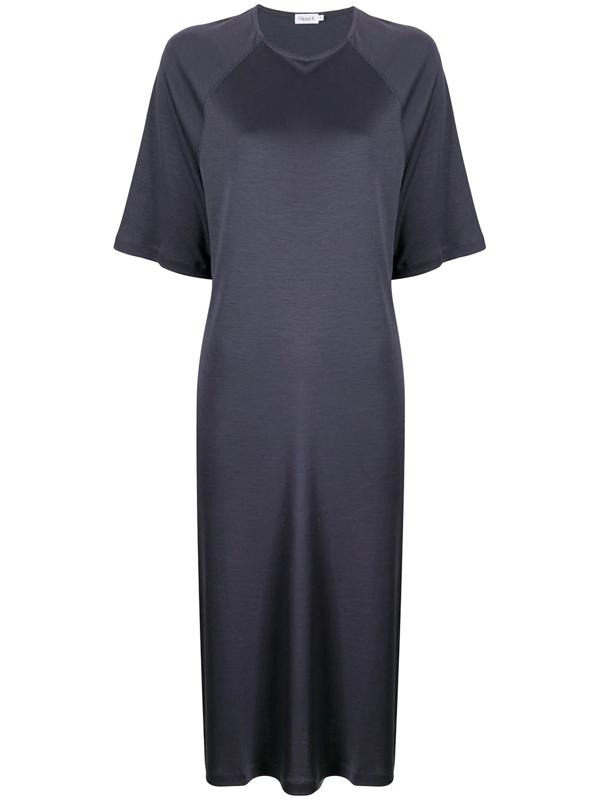 Filippa K Mira T-shirt Dress In Blue