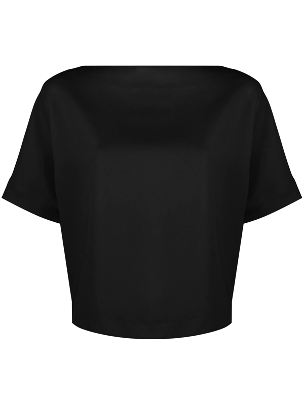 Filippa K Diane Loose-fit Top In Black
