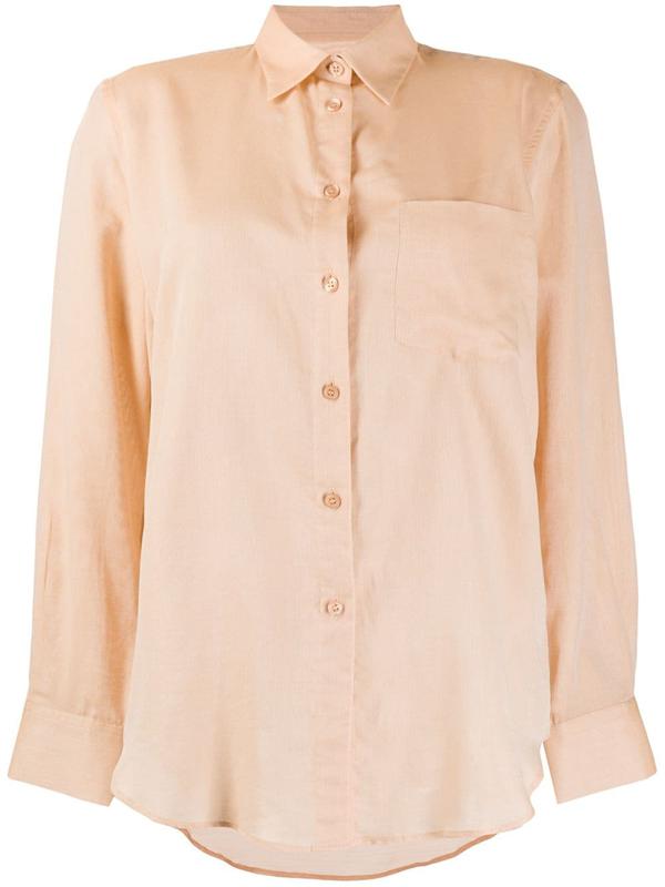 Filippa K Daphne Button-up Shirt In Neutrals