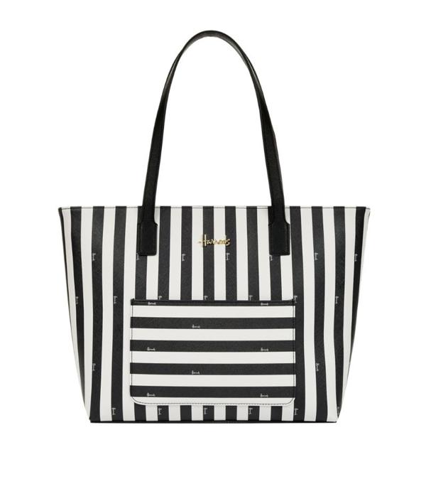 Harrods Boutique Multi Stripe Shoulder Bag