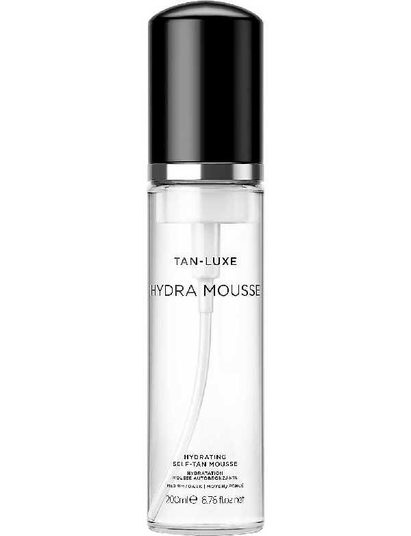 Tan-luxe Hydra Mousse Hydrating Tanning Mousse 200ml In Medium/dark